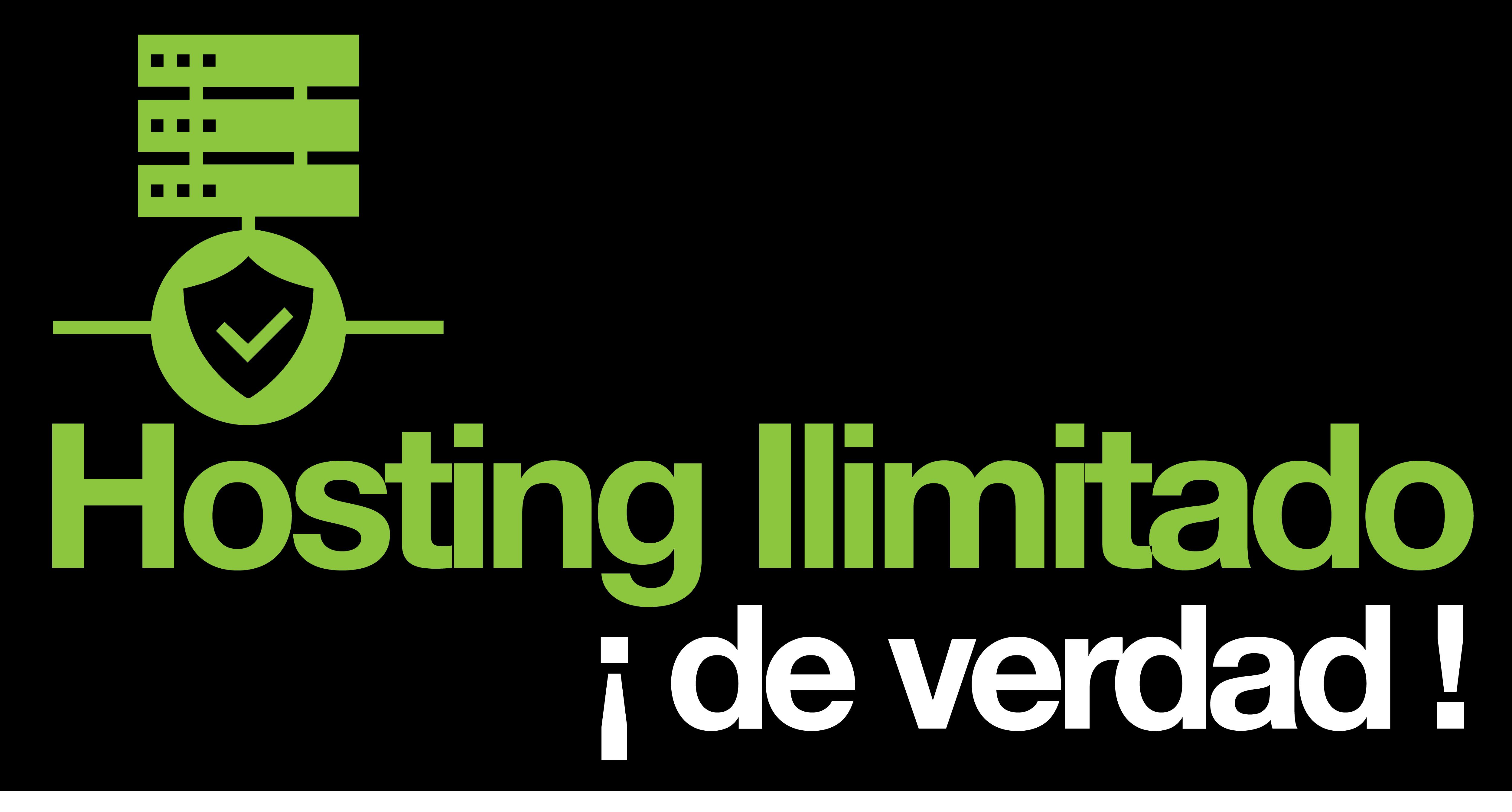 HOSTING ILIMITADO DE VERDAD
